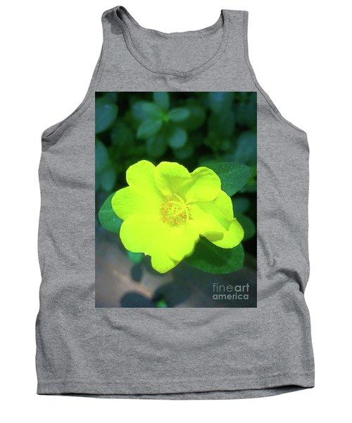 Yellow Hypericum - St Johns Wort Tank Top