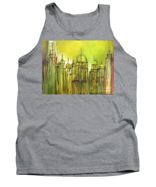 Yellow Mosque  Tank Top