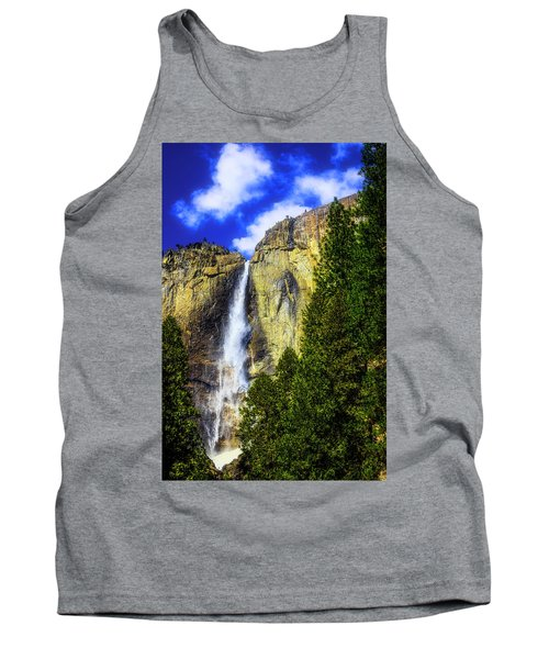 Yosemite Valley Fall In The Clouds Tank Top