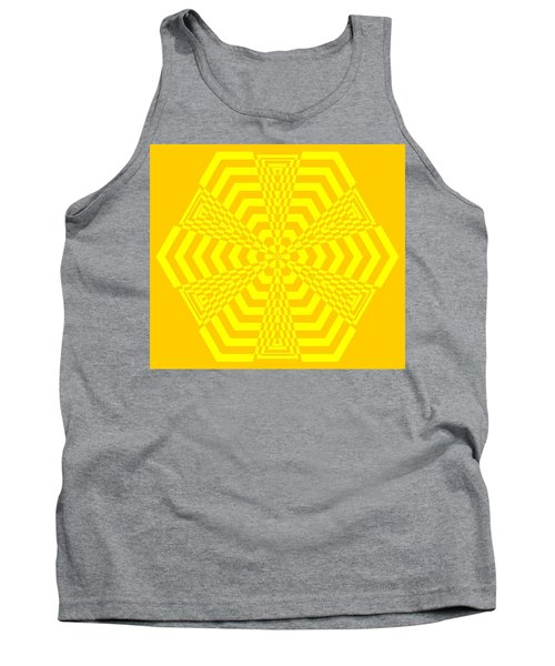 Young At Heart Yellow Tank Top