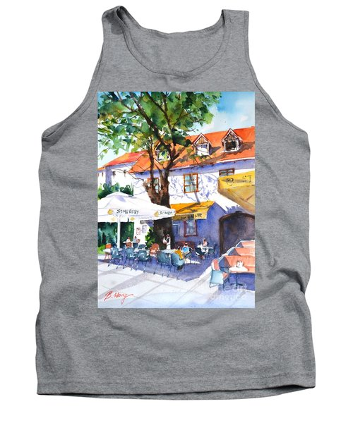 Zagreb Cafe #3 Tank Top