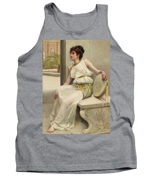 Zara, A Dancing Girl, 19th Century Tank Top