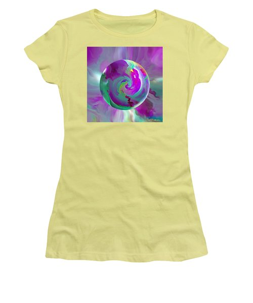 Perpetual Morning Glory Women's T-Shirt (Junior Cut) by Robin Moline