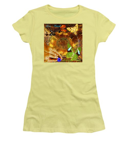 Civitate Dei   City Of God  Women's T-Shirt (Junior Cut) by Joseph Mosley