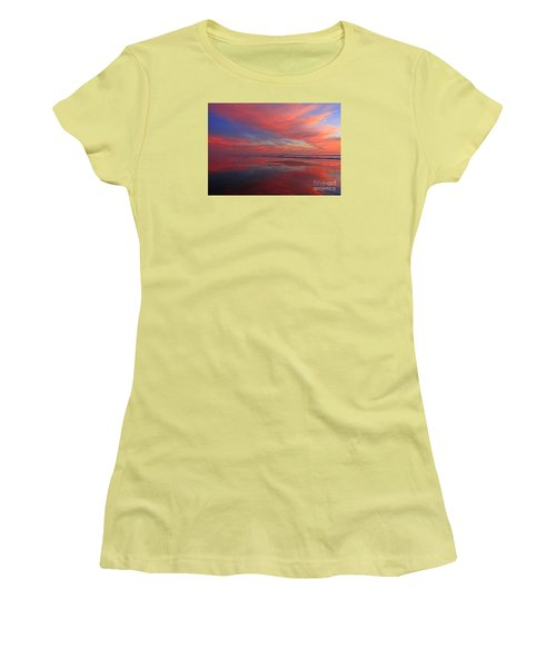Women's T-Shirt (Athletic Fit) featuring the photograph Carlsbad Window by John F Tsumas
