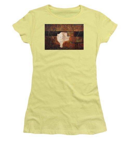 Castaway Cats Women's T-Shirt (Junior Cut) by Blue Sky