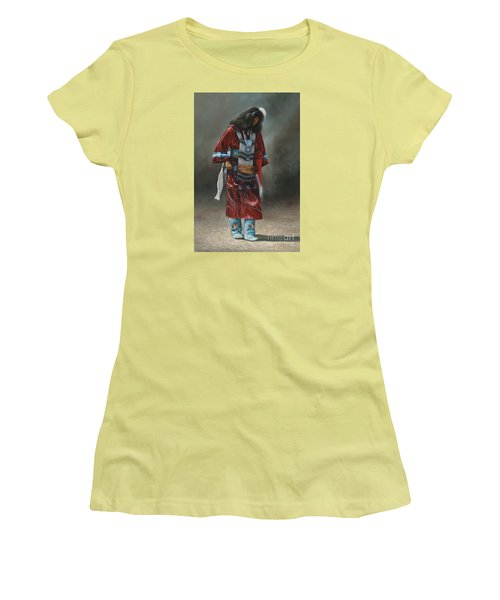 Ceremonial Red Women's T-Shirt (Junior Cut)