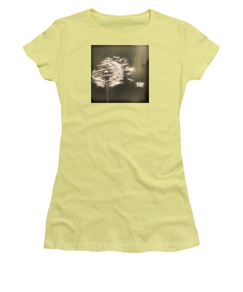 Dandelion Women's T-Shirt (Junior Cut) by Yulia Kazansky