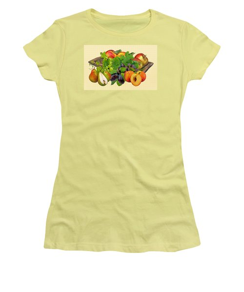 Day Fruits Women's T-Shirt (Athletic Fit)