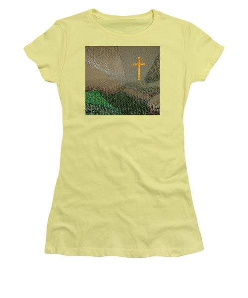 Depression And The Saviour Women's T-Shirt (Junior Cut) by Rod Ismay