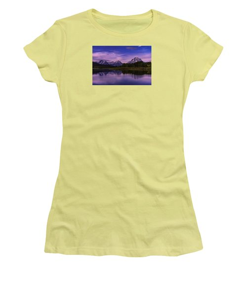 Moonlight Bend Women's T-Shirt (Athletic Fit)