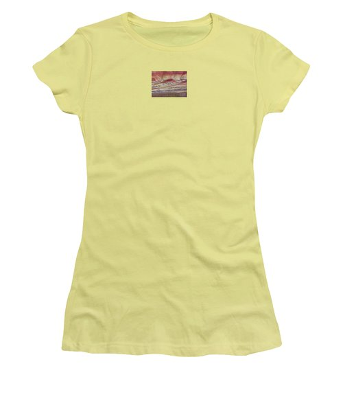 Women's T-Shirt (Junior Cut) featuring the photograph John Day Fossil Beds Painted Hills by Michele Penner