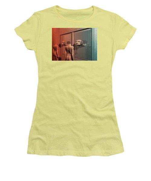 New Faces Women's T-Shirt (Junior Cut) by John Alexander
