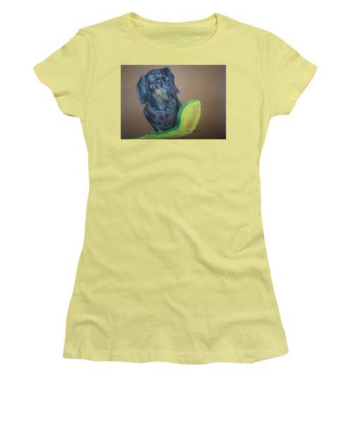 Ozzie Dashound Women's T-Shirt (Junior Cut) by Peter Suhocke