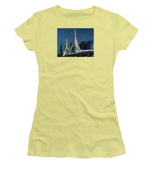 The Zakim 012 Women's T-Shirt (Athletic Fit)