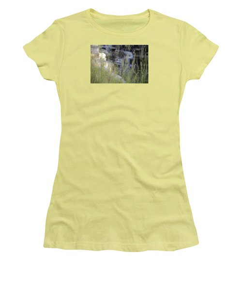 Women's T-Shirt (Junior Cut) featuring the photograph Water Is Life 2 by Teo SITCHET-KANDA