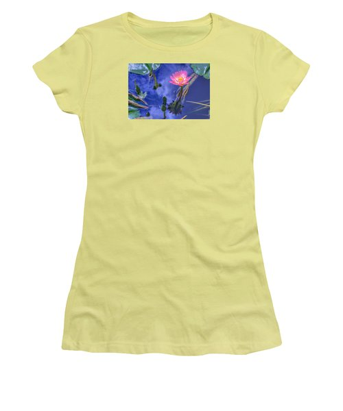 Flower 7 Women's T-Shirt (Athletic Fit)