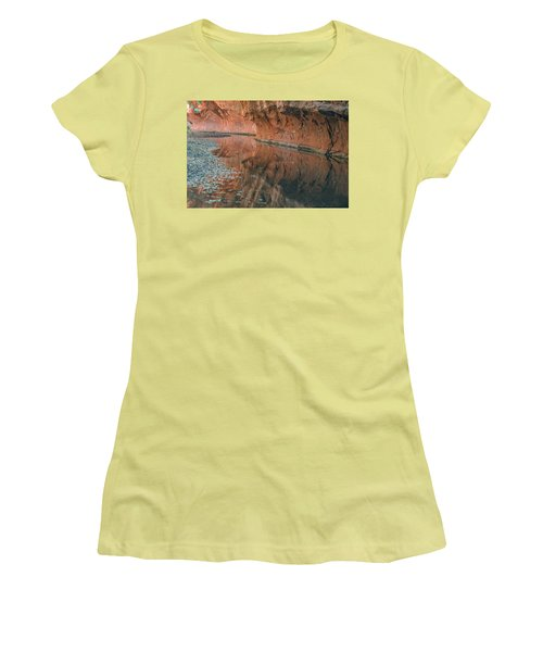 West Fork Reflection Women's T-Shirt (Athletic Fit)