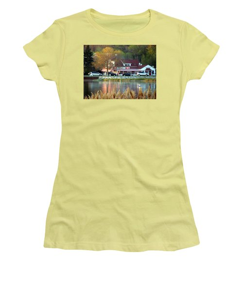 Wilson's Ice Cream Parlor Women's T-Shirt (Junior Cut) by David T Wilkinson
