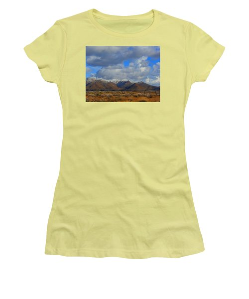 Winter In Golden Valley Women's T-Shirt (Athletic Fit)