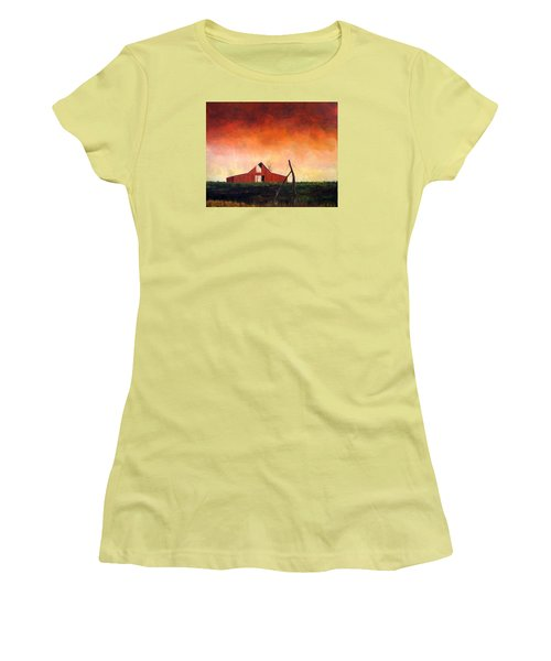 Wired Down Women's T-Shirt (Athletic Fit)
