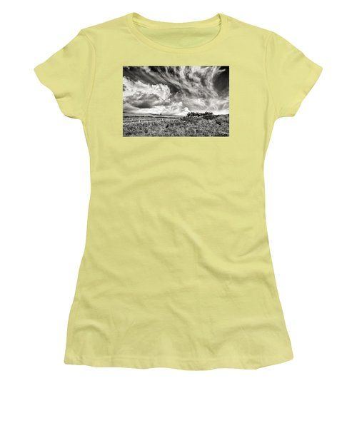 Written In The Wind Women's T-Shirt (Junior Cut) by William Beuther
