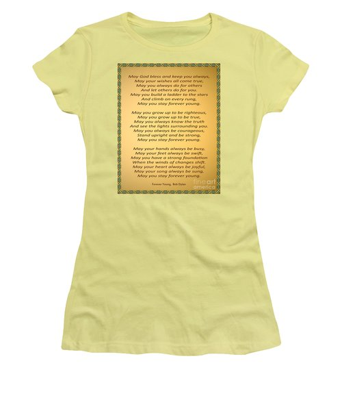 148- Bob Dylan Women's T-Shirt (Athletic Fit)
