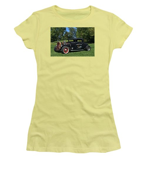 1931 Nash Coupe Hot Rod Women's T-Shirt (Junior Cut) by Tim McCullough