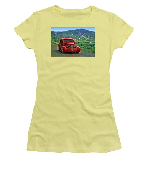 1939 Chevrolet Coupe Women's T-Shirt (Junior Cut) by Tim McCullough