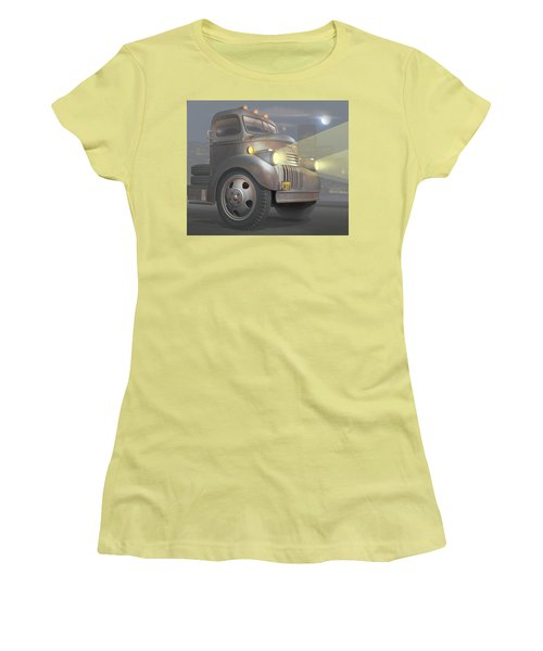 1946 Chevy Coe Women's T-Shirt (Junior Cut) by Stuart Swartz