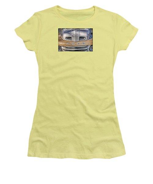 1948 Ford Pickup Women's T-Shirt (Junior Cut) by Richard Farrington