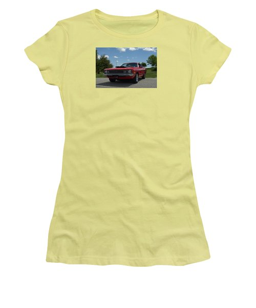 1972 Dodge Demon Women's T-Shirt (Athletic Fit)