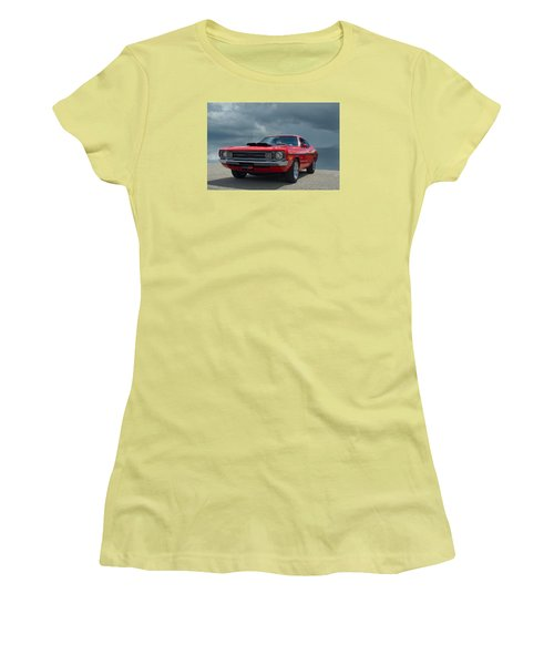 1972 Dodge Demon Women's T-Shirt (Junior Cut) by Tim McCullough