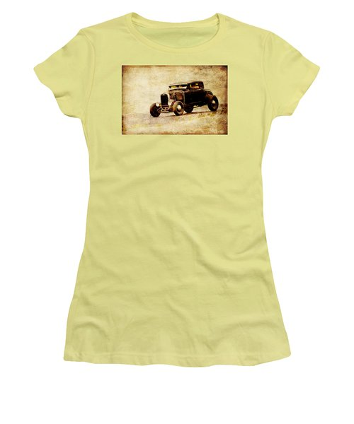 Hot Rod Ford Women's T-Shirt (Athletic Fit)