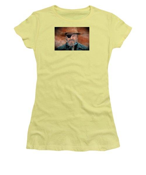 Jeff Bridges As U.s. Marshal Rooster Cogburn In True Grit  Women's T-Shirt (Athletic Fit)