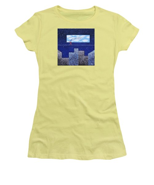 Man In Love Women's T-Shirt (Athletic Fit)