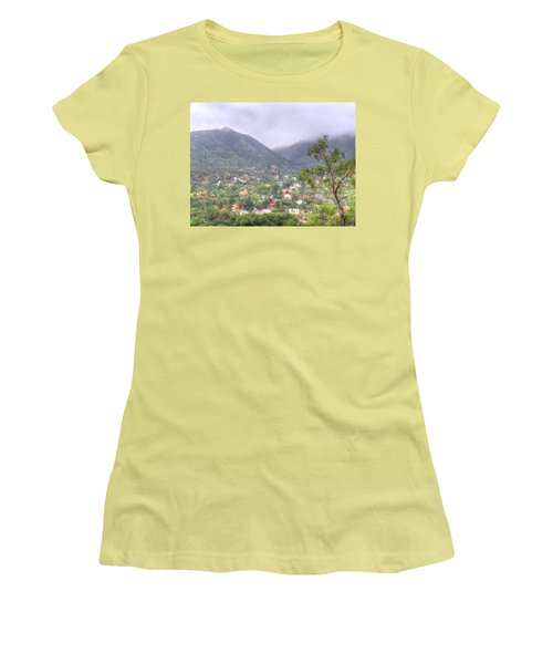 Women's T-Shirt (Junior Cut) featuring the photograph Manitou To The South II by Lanita Williams