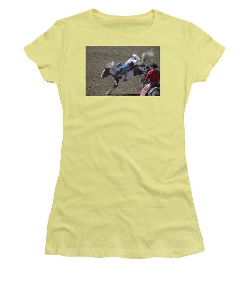 Ride Em Cowboy Women's T-Shirt (Athletic Fit)