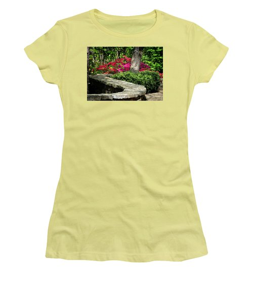 Women's T-Shirt (Junior Cut) featuring the photograph Stay On The Path by Nava Thompson