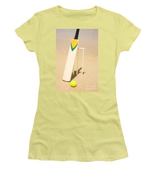 Summer Sport Women's T-Shirt (Junior Cut) by Jorgo Photography - Wall Art Gallery