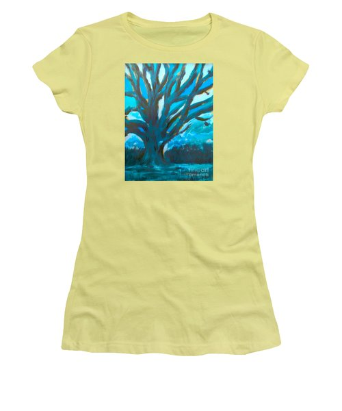 The Blue Tree Women's T-Shirt (Athletic Fit)