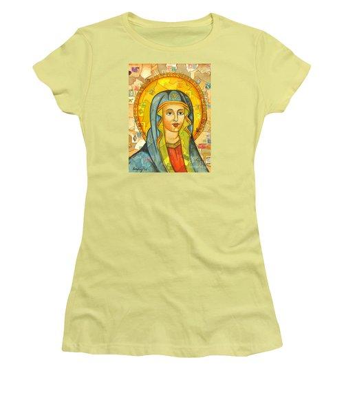 The Virgin Women's T-Shirt (Junior Cut) by Joseph Sonday