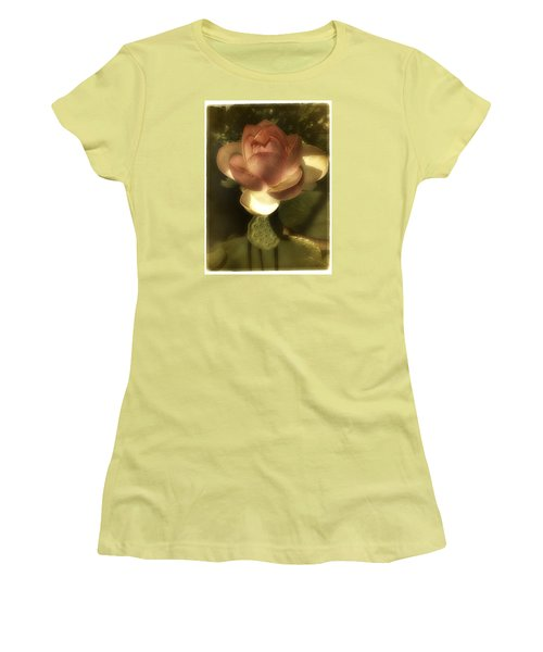 Vintage Lotus Women's T-Shirt (Junior Cut) by Richard Cummings