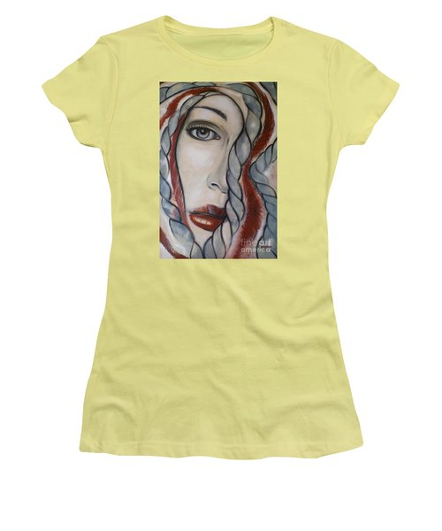 Melancholy 090409 Women's T-Shirt (Junior Cut) by Selena Boron