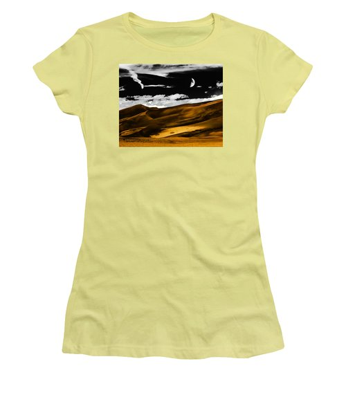 Night At The Great Sand Dunes Women's T-Shirt (Athletic Fit)