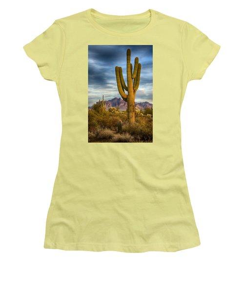 Standing Tall  Women's T-Shirt (Junior Cut) by Saija  Lehtonen