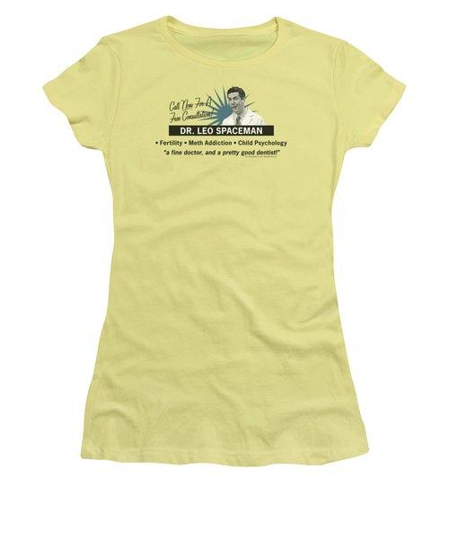 30 Rock - Dr Spaceman Women's T-Shirt (Athletic Fit)