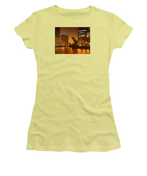 Chicago Women's T-Shirt (Junior Cut) by Miguel Winterpacht