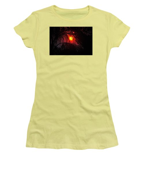 Fire In The Sky Women's T-Shirt (Junior Cut)