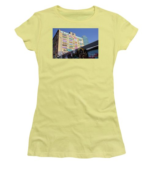 5 Pointz Graffiti Art 2 Women's T-Shirt (Junior Cut) by Allen Beatty